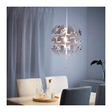 "NEW IKEA PS 2014 PENDANT LAMP  14"" LIKE  DEATH STAR WHITE,SILVER"