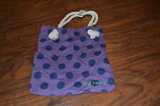 A7- NWT Old Navy Purple/Blue Polka Dot & Striped Shoulder Bag