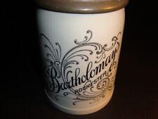 Circa 1905 Bartholomay Blue Stein w/Winged Logo Ceramic Top, Rochester, Ny