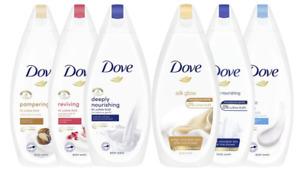 Dove Ladies Women Body Wash Shower Cream Gel 225ml