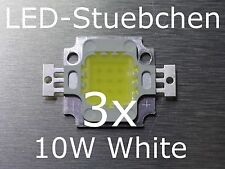 3x 10w High-Power LED blanco blanco White