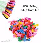 Water Balloons Refill Pack 500 Water Balloons + 500 Rubber Bands + 1 Refill Tool