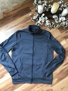 Arc'teryx Mens Lightweight Jacket Size Medium Blue Fleece Full Zip Sample