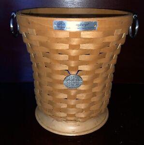 Longaberger 2005 Basket Collectors - waterproof insert - planter - ice bucket!