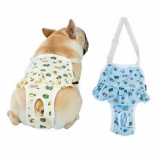 Female Dog Diaper Washable Dog Dipers Physiological Pants for French Bulldog、