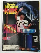 November 1994 Junior Seau Chargers Sports Illustrated For Kids Full Card Sheet