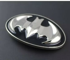 Black And Silver Batman Belt Buckle In Brand New Condition