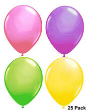 Easter Decorations 25 Spring Coloured Balloons