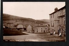 Reeth, from High Row (Swaledale) north west of Leyburn - real photographic p/c.