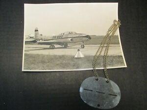 Erkennungsmarke WK2 II US Air Force 1140 Luftwaffe? Foto Acrojets
