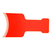 Salon Hairdressing Hair Highlight Dye Tint Color Board Paddle Comb Styling