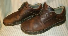 Dr. Doc Martens 11194 Brown Pebbled Leather 3-Eye Casual Oxford Men Size US 13