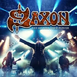 SAXON Let Me Feel Your Power 2x LP + 2x CD + Blu-ray SET Sealed NEW 180g NWOBHM