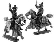 Soldado De Plomo Juguete, el obispo de la Orden Teutónico, en el caballo, Coleccionable