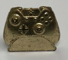 XBOX CONTROLLER Monopoly Empire GOLD TOKEN metal game piece replacement part