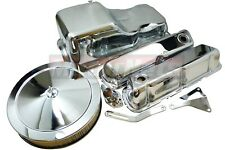 SBF Ford Chrome Engine Dress Up Kit 289 302 351W Mustang Small Block Valve cover