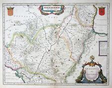 EUROPA SPANIEN ARAGONIA ET NAVARRA PAMPLONA SARAGOSSA WAPPEN BLAEU um 1636 #49
