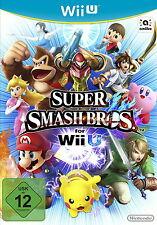 Super Smash Bros. Nintendo Wii U *NEU & OVP* Wii-U WiiU Deutsch SuperSmashBros