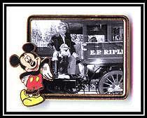 Disney Frame Series Mickey Mouse & Walt Photo Pin