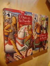 Honhon L'Ours et la pucelle Roman Moyen Age Jeanne d'Arc Guerre de cent ans Neuf