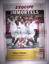 JEUX OLYMPIQUES LONDON 2012 / L'EQUIPE 13 AOUT 2012 HANDBALL MEDAILLE D'OR