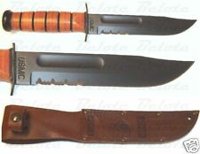 Ka-Bar Knives Full-Size USMC KaBar Serrated Edge 1218