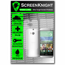 ScreenKnight HTC One M8S FULL BODY SCREEN PROTECTOR invisible Military shield