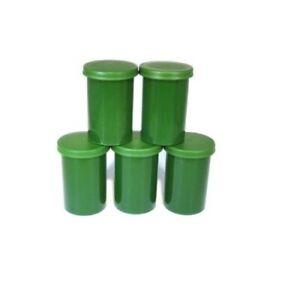 3-5-10 Filmdose Geocaching Montessori Basteln Cache Versteck Aufbewahrung farbig