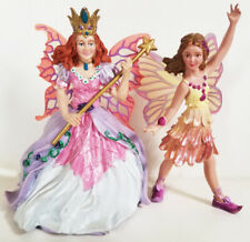 SAFARI Ltd lot of 2 fairies BUTTERCUP FAIRY and ROSE THE FAIRY QUEEN