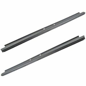 Outer Window Sweep Felt Rear Kit Pair Set of 2 for Chevy GMC Cadillac Truck New