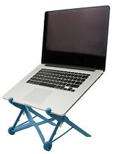 NOMAS Blue Portable Laptop Stand built with Nylon Fiberglass for Travel | Dur...