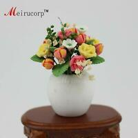 Dollhouse 1:12 Scale Miniature artistic FLOWER And vase 10056