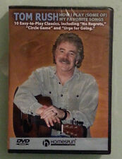 tom rush HOW I PLAY SOME OF MY FAVORITE SONGS   DVD NEW