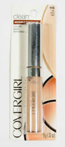 CoverGirl Clean Invisible Concealer .32 Oz 115 FAIR New Carded