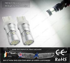 W21/5W CanBus Cree LED White DRL Daytime Running Lights For Seat VW Skoda Citigo