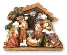 XMAS NATIVITY SET 7 Figures Resin Christmas Gift Nativity Scene Xmas Ornament