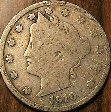 1910 USA 5 CENTS LIBERTY