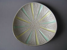 Carstens Keramik Schale 50er Jahre Design 50s pastell bowl West German Pottery