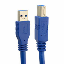 USB 3.0 A Male AM to USB 3.0 B Type Male BM USB3.0 Cable For Printer Scanner HDD