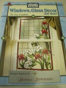 Book GALLERY GLASS PLAID Windows GLASS DECOR J Cumber D Dewberry 30 pg 2003