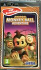 SUPER MONKEY BALL: ADVENTURE PSP GAME ~ NEW / SEALED