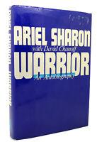 Ariel Sharon & David Chanoff WARRIOR  An Autobiography 1st Edition 1st Printing