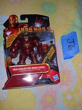 J6_12 Marvel Universe Lot HULKBUSTER ARMOR IRON MAN 2 Concept 27 legends hall of