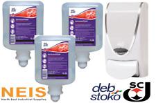 Deb Stoko Instantfoam Pure Hand Sanitiser Kills 99.99% Germs Value Starter Pack