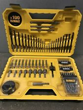 DeWalt DT71563 - QZ Combination Drill Bit Set 100 Pieces Masonry, Plastic, Metal