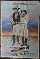 Used poster cinema rabbi and the pistolero vintage movie film poster used