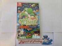 New * Yoshi's Crafted World - Nintendo Switch * Sealed * Super Mario Island