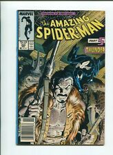 Amazing Spider-Man #294 - Kraven's Last Hunt - Death of Kraven Newsstand Edition