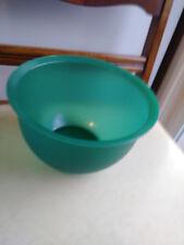 Tupperware 2 1/2 Liter Sheer Jade Bowl no Lid 3093-B