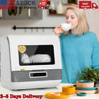 Portable Countertop Dishwasher 5 Washing Programs Display Automatic Dishwashing photo